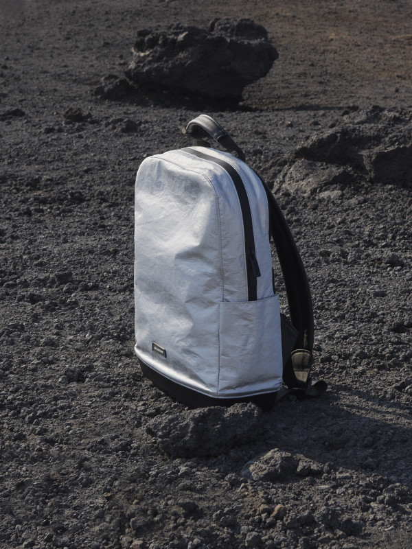 Classic backpack silver edition