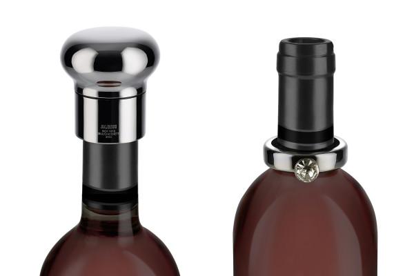 Tappo e Anello su bottiglia